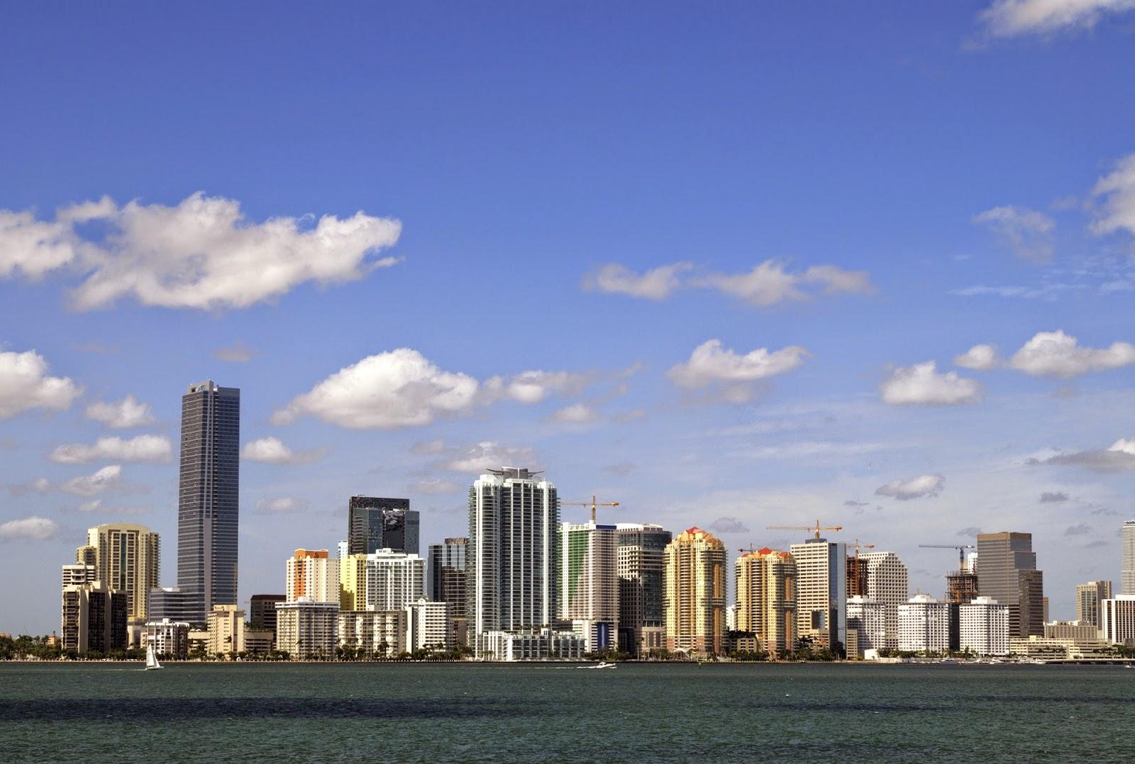 skyline di Miami