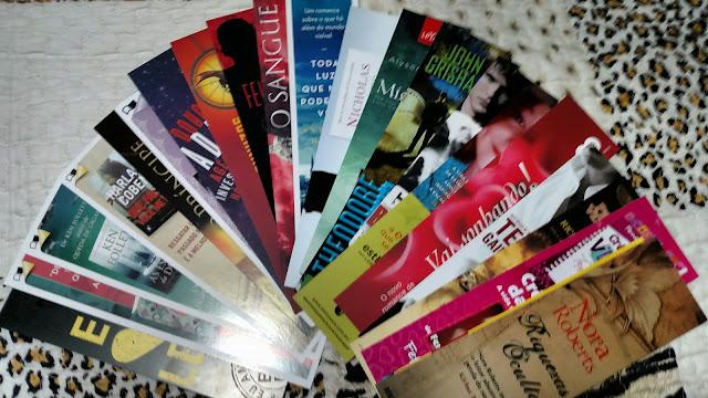 Kit de marcadores prêmio Leitor Exclusivo Junho 2015 - Blog Dani Fuller