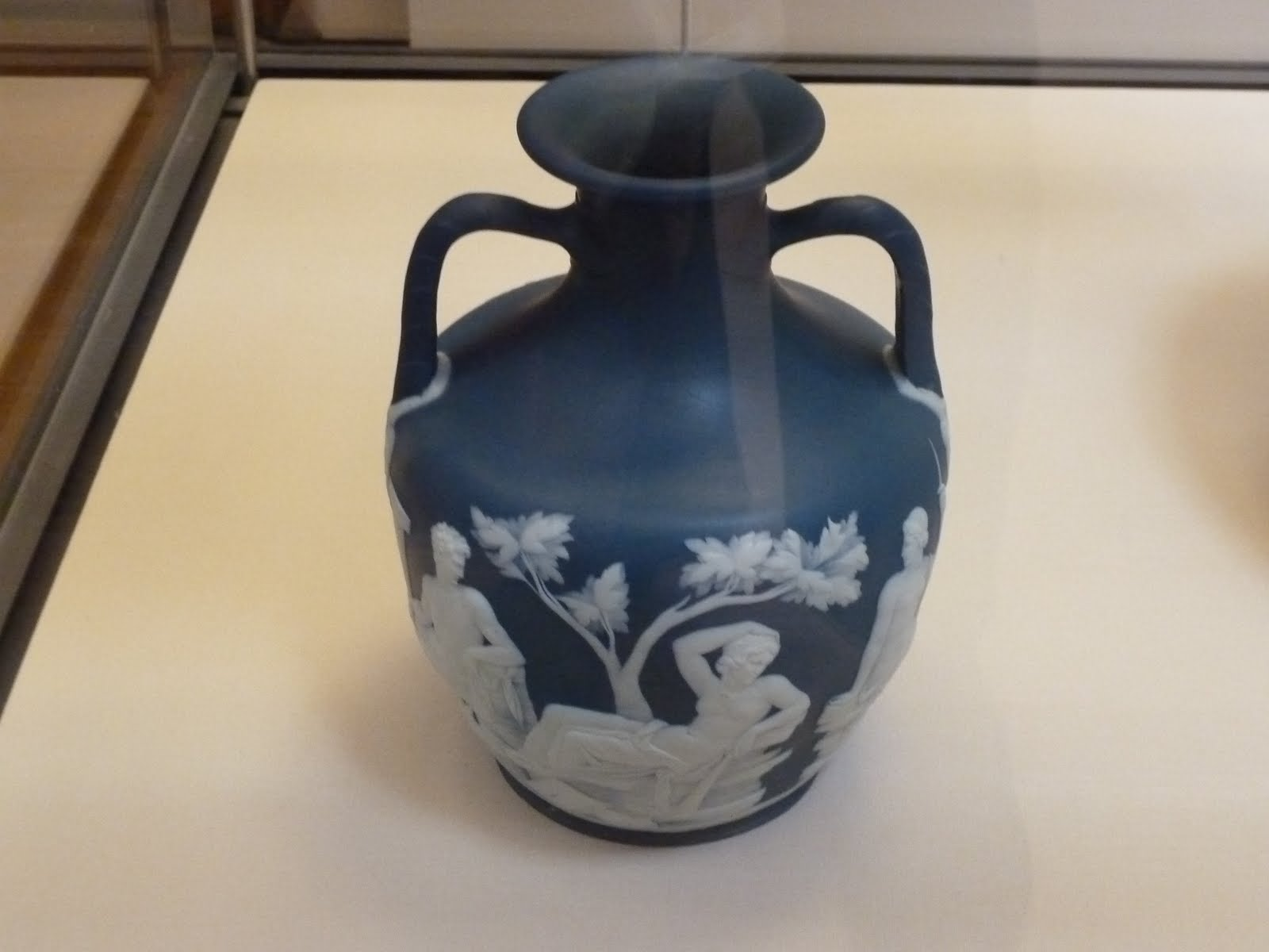Travels with victoria the british museum part one number one copy of the portland vase jasperware thrown applied reliefs england staffordshire wedgwood c1791 between 1786 95 josiah wedgwood painstakingly reviewsmspy