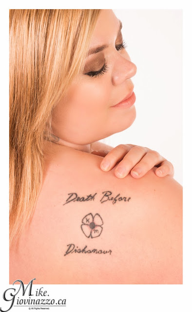 Death Before Dishonour Tattoo Image