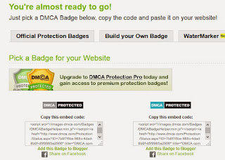badge DMCA support HTTPS