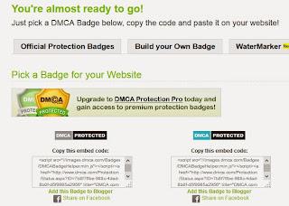 badge DMCA support HTTPS