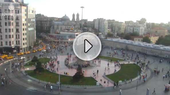 Taksim Meydanı Mobese Kamerası Canlı izle