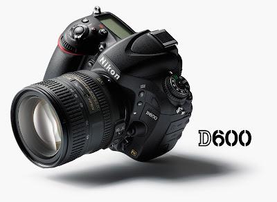Fotografia della reflex full frame Nikon D600