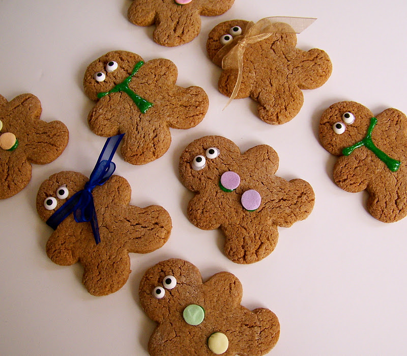 Couldn't Ask For More: Gluten-Free Gingerbread Cookies