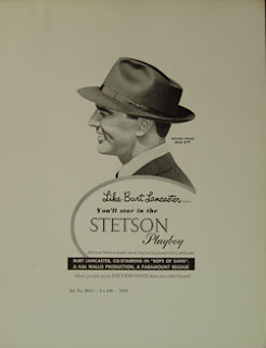 Vintage Stetson Hat Poster  - The Hat House sells Stetson Hats 347-640-4048