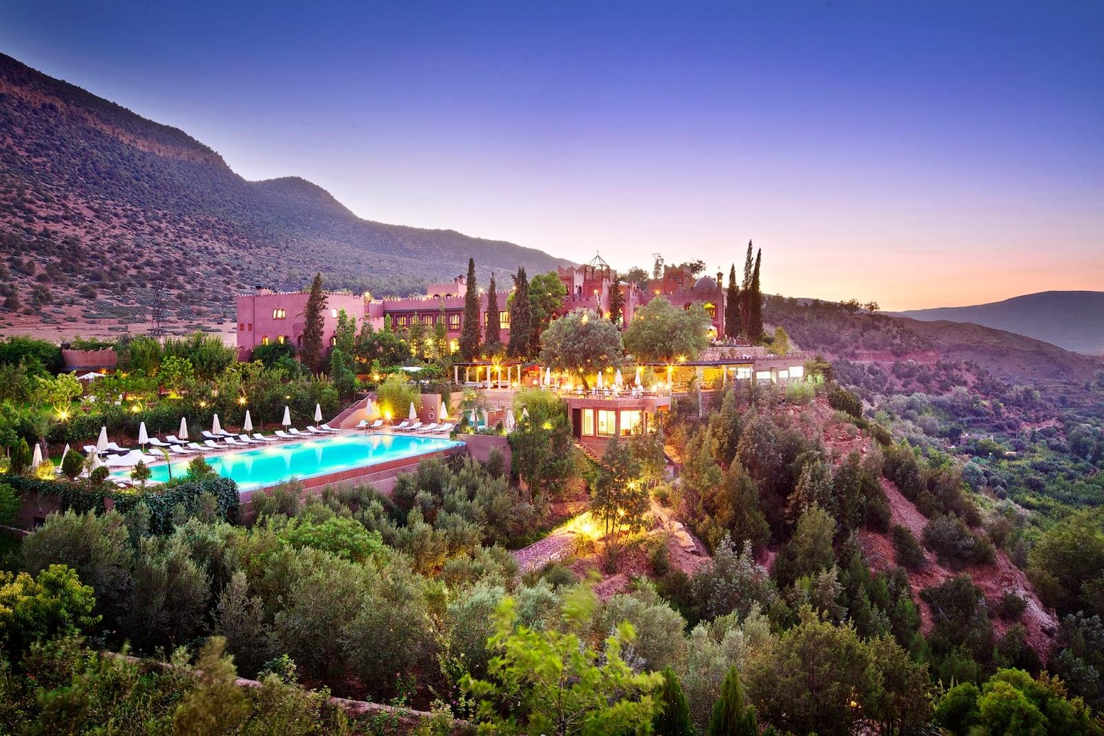 Hotel in Marokko - Kasbah Tamadot - Ritz Reisen