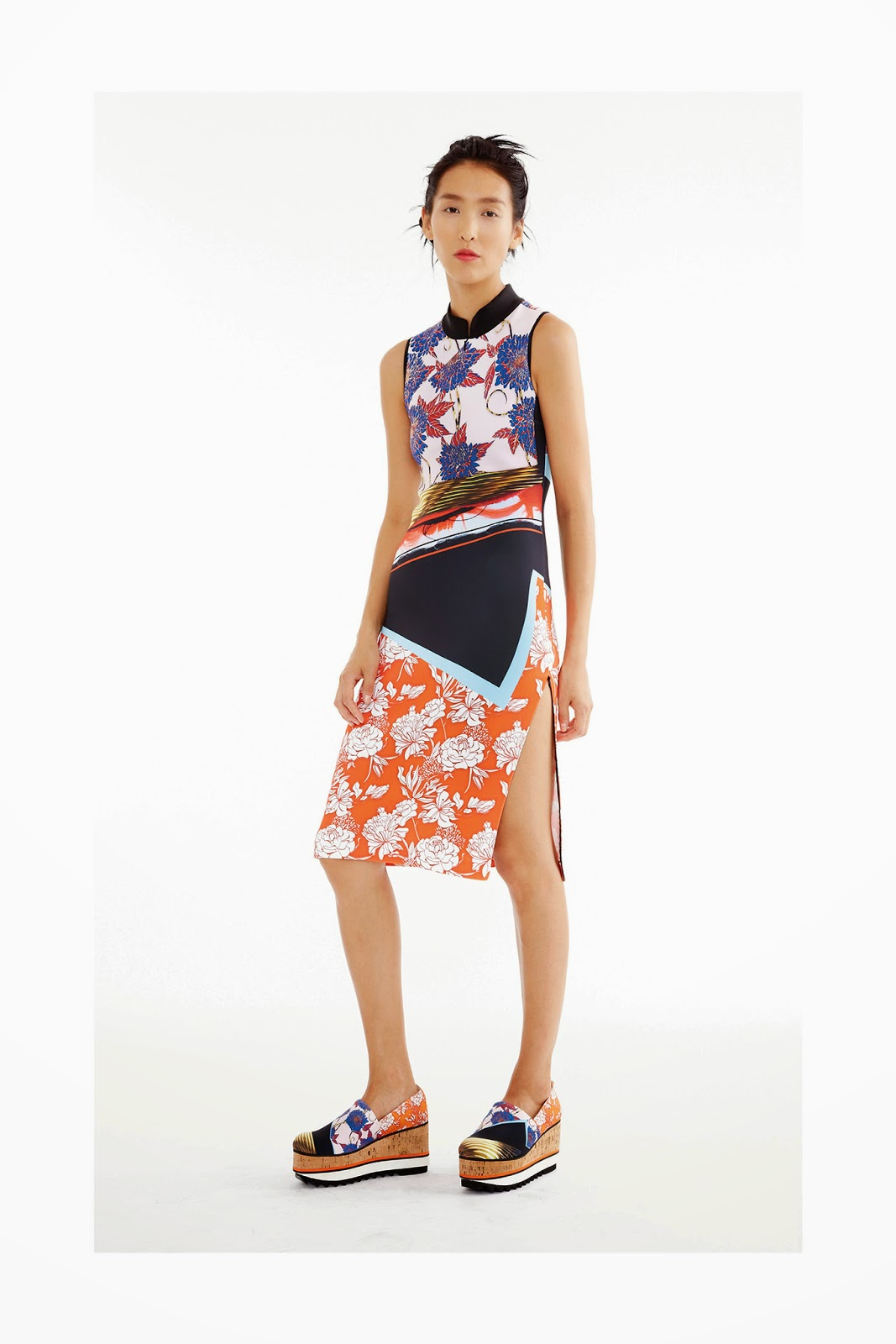 SS15 by Clover Canyon - The Mastery of Print Mixing