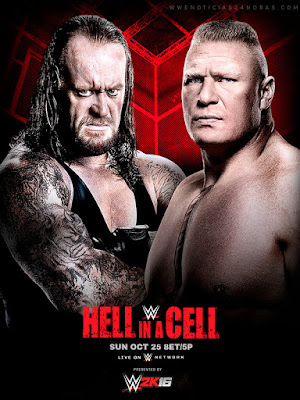 Hell in a Cell Undertaker wyatt Brock Lesnar Kane