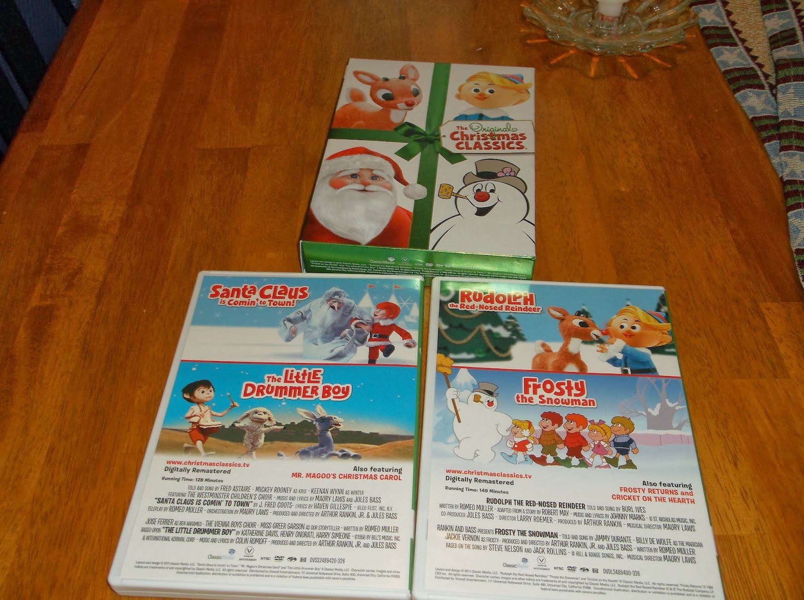 the original christmas classics blu ray
