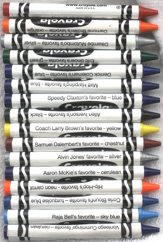 The Crayon Blog: Rare and Not Rare: A Visual look at Crayola crayon ...