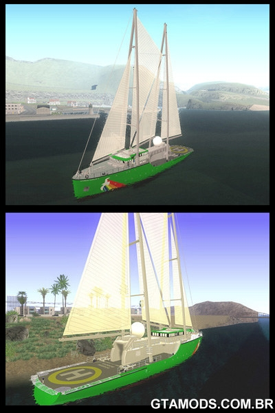 Barco Rainbow Warrior