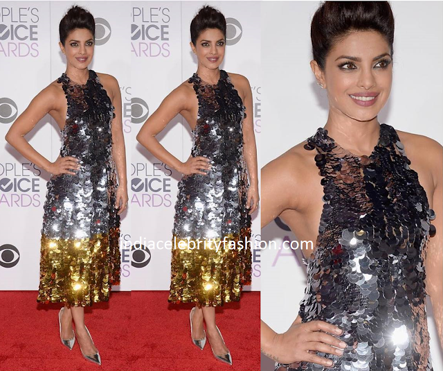 Priyanka Chopra in Vera Wang Dress