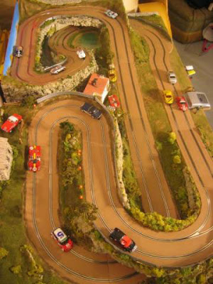 pista Slot Car - Mulholland Rally Track - Bill