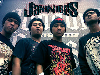 Janin Iblis Band Brutal Death Metal Temanggung Foto Logo Font Wallpaper