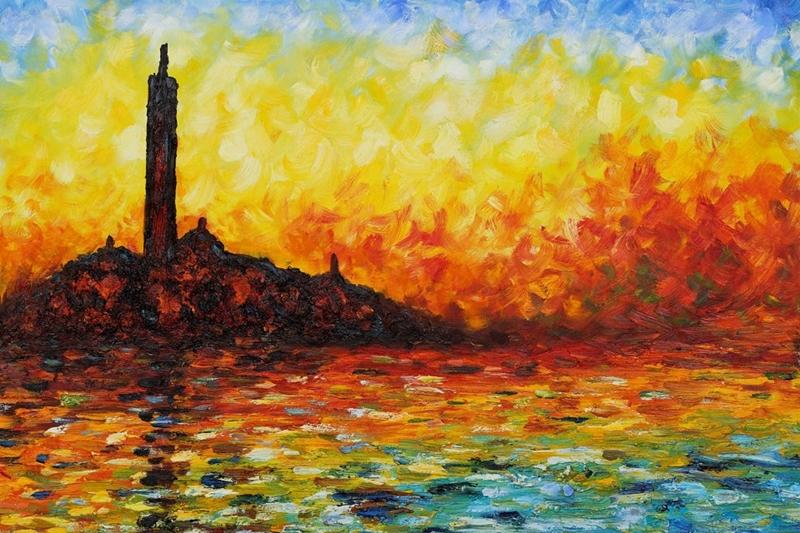 Por amor al arte claude monet el pintor impresionista for Claude monet impressionist paintings
