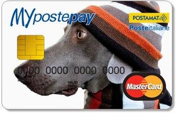 Si può personalizzare l'immagine presente sulla carta prepagata ricarcabile MyPostePay