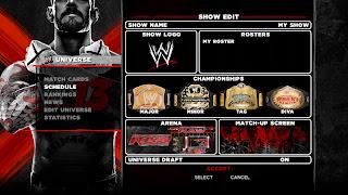wwe 13 screen 8 Universe Mode Is Back In WWE 13   Details, Video, & Screenshots