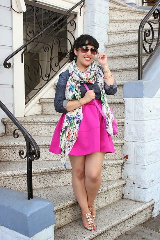 SF Style Blogger Spring Brunch Outfit