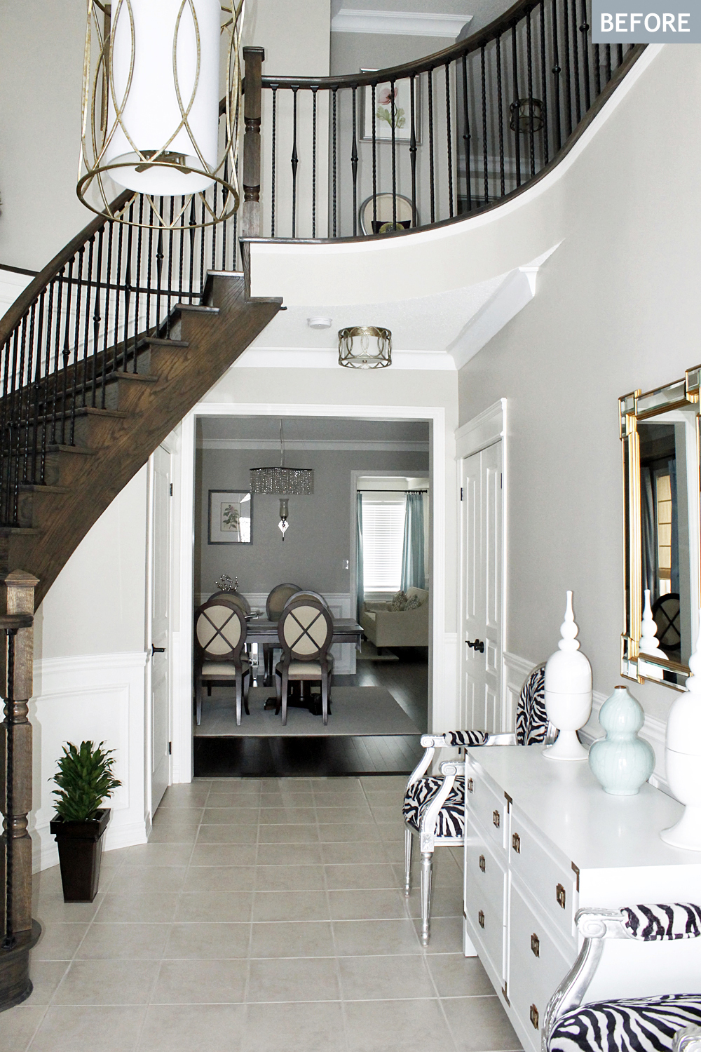 AM Dolce Vita: Foyer Tile and Rug