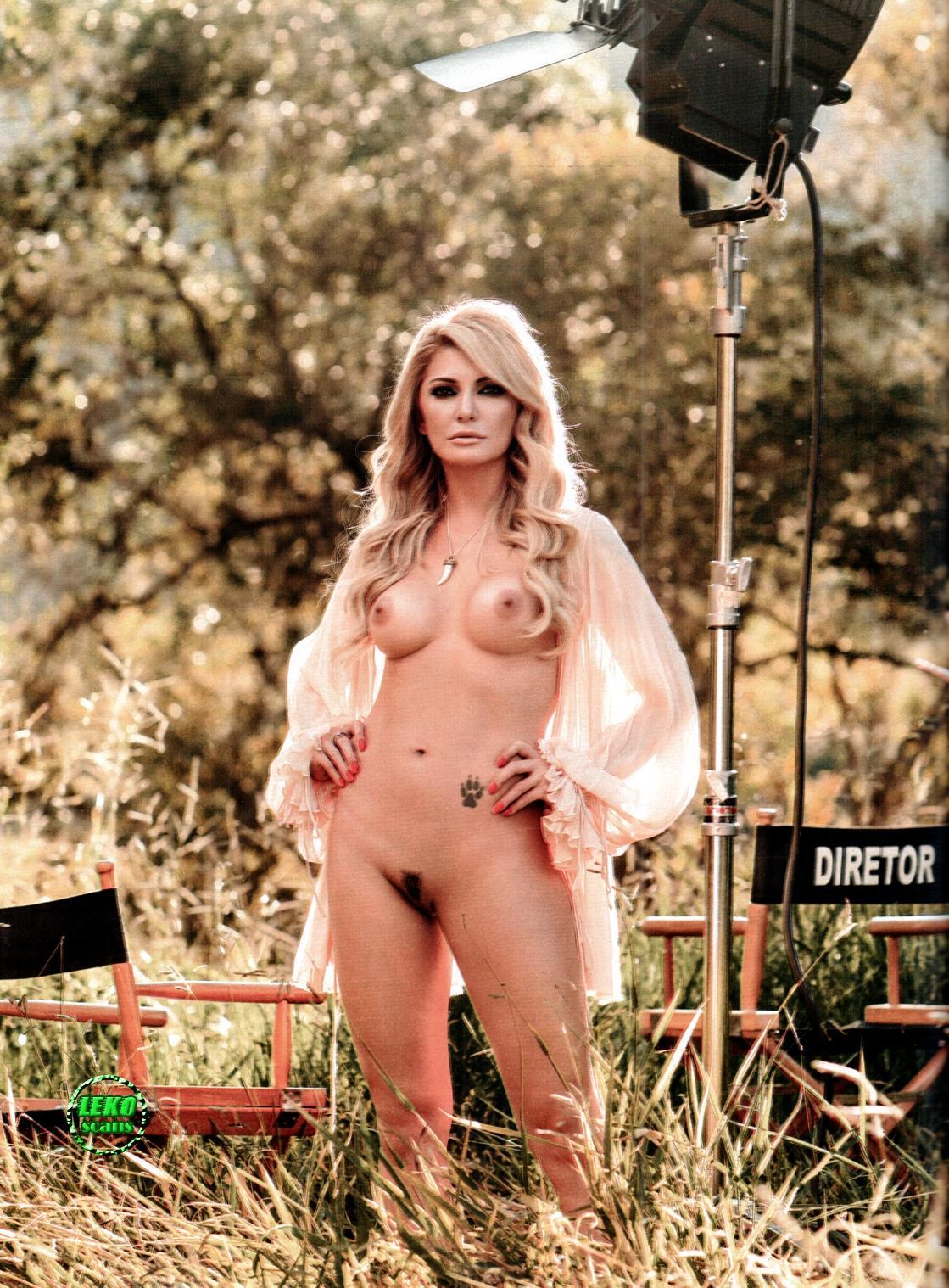 Antonia Fontenelle Nua Na Playboy Brasileira