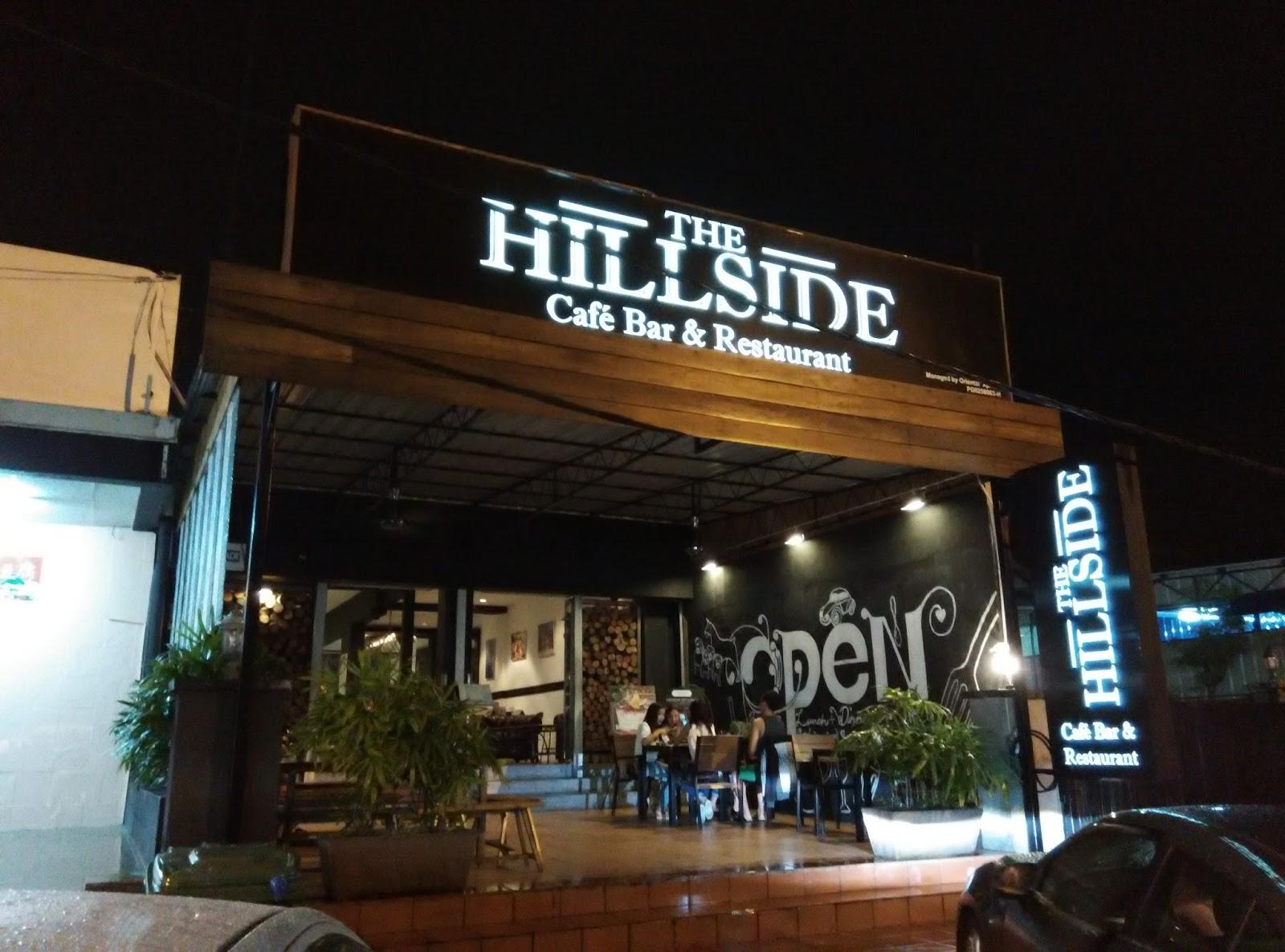 Hillside Cafe Menu Penang