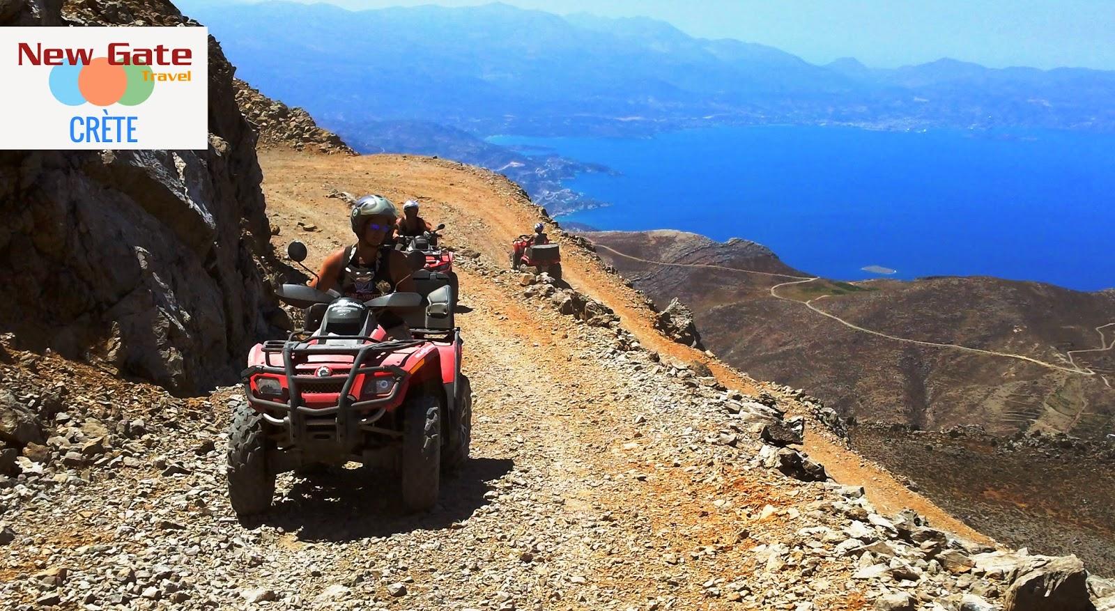 Randonnée quad en Crète