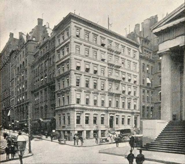 new york history geschichte manhattan trust company building. Black Bedroom Furniture Sets. Home Design Ideas
