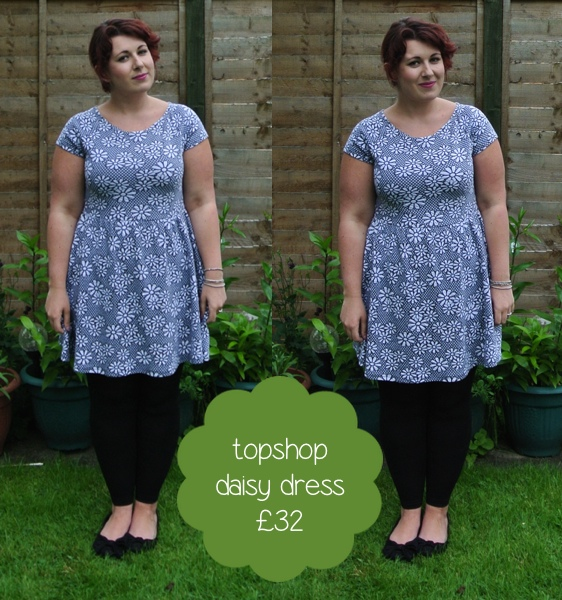 outfit topshop daisy dress