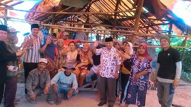 Ferry Satria Blusukan Ke Pengrajin Batu Bata Kumun Debai