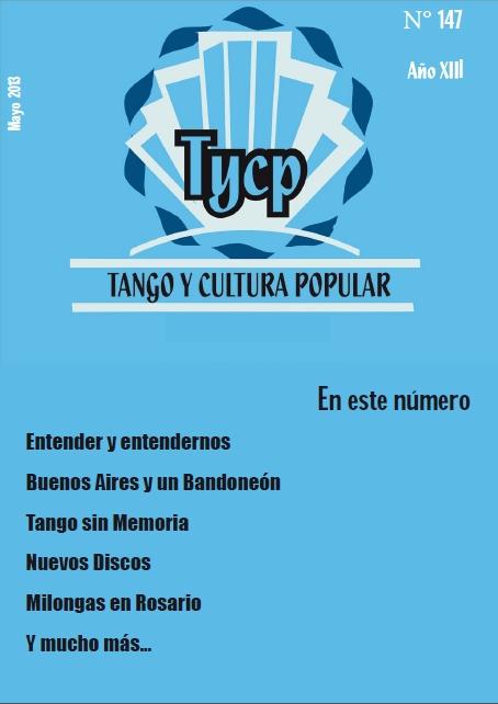Tango y Cultura Popular Nº 147