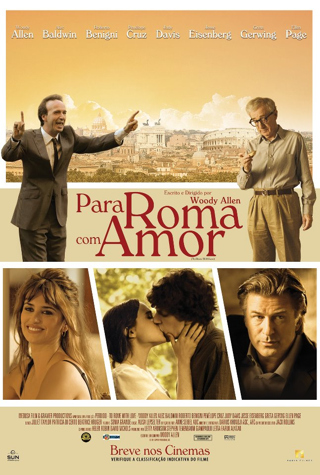 Para Roma com Amor (Dual Audio) BDRip XviD