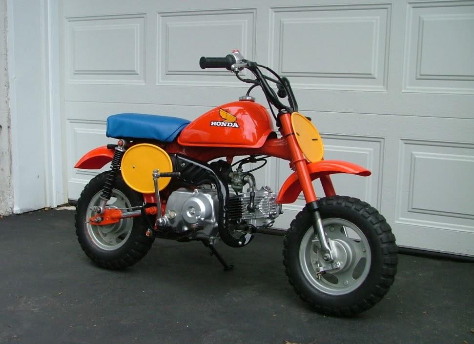 1984 Honda Z50r - Mini Bike Restoration: December 2012