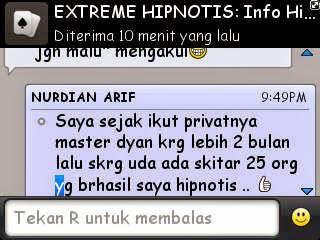 Cara hipnotis