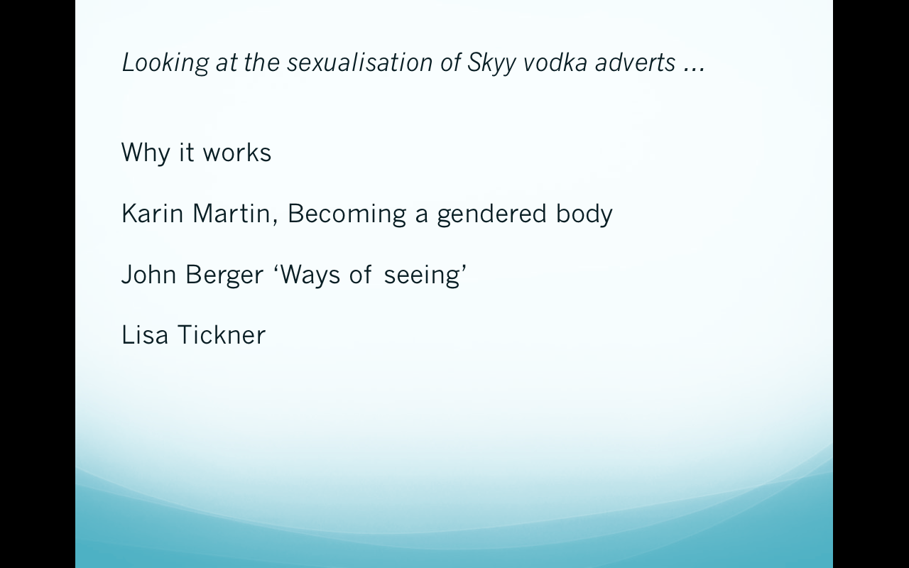 skyy vodka brand essay Find and save ideas about skyy vodka on pinterest one of the most popular american premium vodka brands, skyy vodka proved once again how unusual they are by unveiling a campaign that gives a cosmic spin skyy vodka advertisement essay sample need essay sample on ad analysis: skyy vodka.