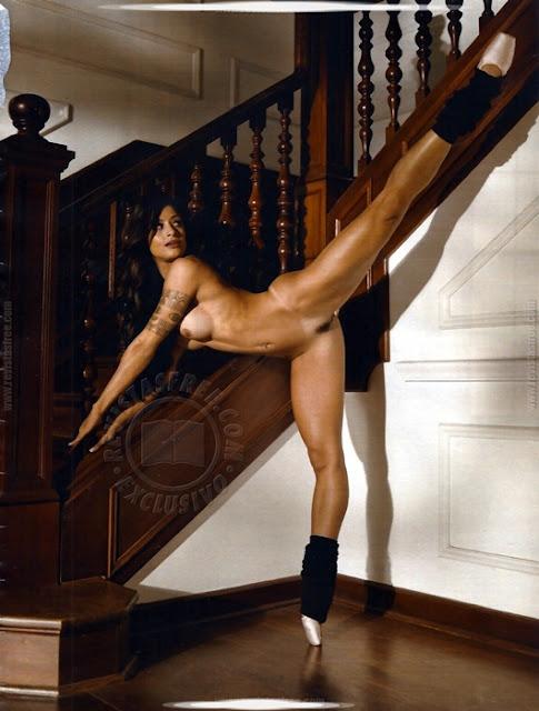 Aline Riscado Bailarina Do Faust O Doming Globo