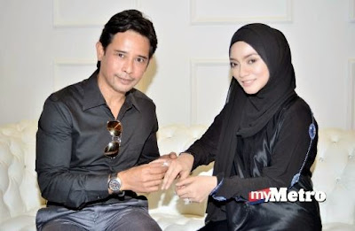 Zamarul Hisyam - Diana Rafar Kembali Bergelar Suami Isteri