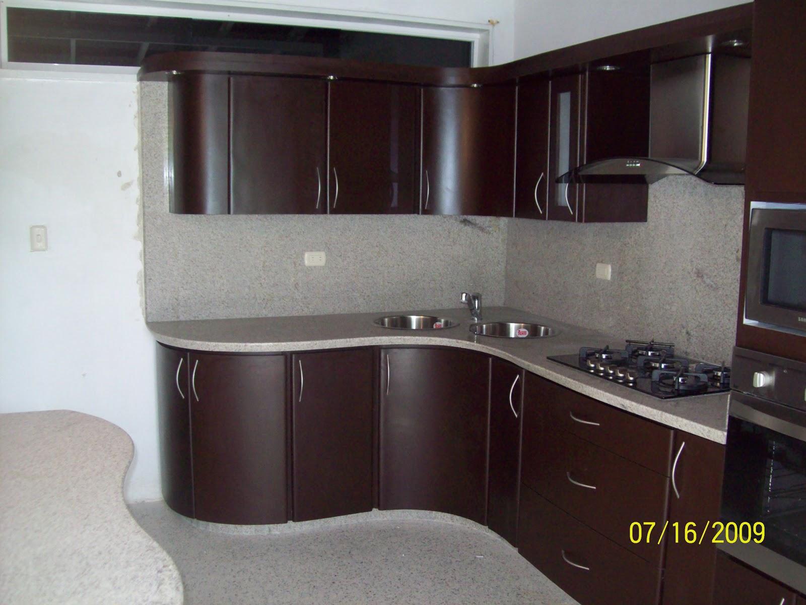 Cocinas empotradas en maracay for Modelos de puertas de cocinas modernas