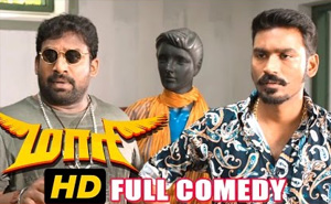 Maari Tamil Full Comedy | Dhanush | Kajal Aggarwal | Robo Shankar | Kalloori Vinoth