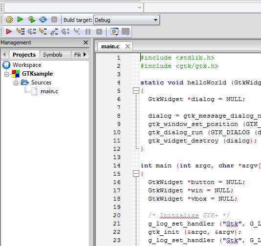 code blocks para windows 8