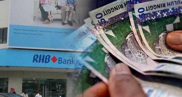 Kakitangan RHB Bank terkejut besar terima gaji hampir 10 kali ganda