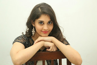 Surabhi ultimate Young beauty in black jeans and high heels at Beeruva Movie Press Meet