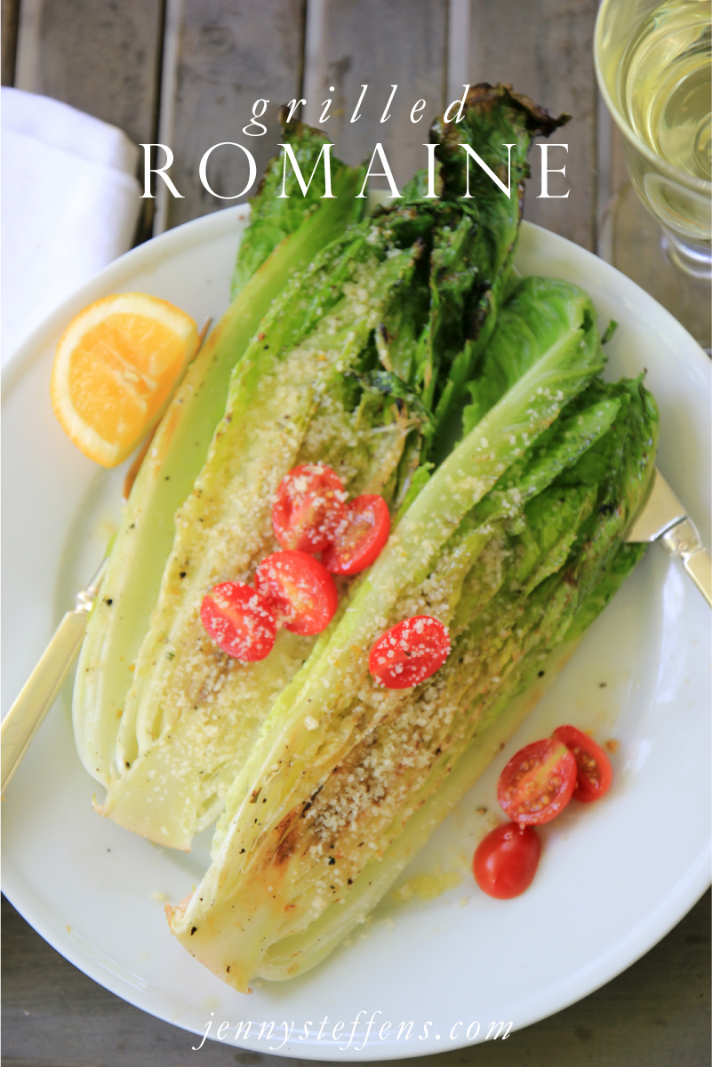 Grilled Romaine Lettuce Recipe — Dishmaps