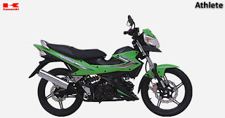 Modifikasi Kawasaki Athlete Body New Satria Fu 2013