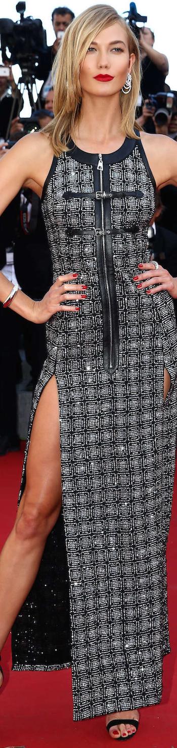 Karlie Kloss 2015 Cannes Film Festival