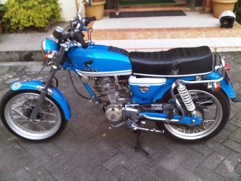 Motor Honda GL 100 Modif CB