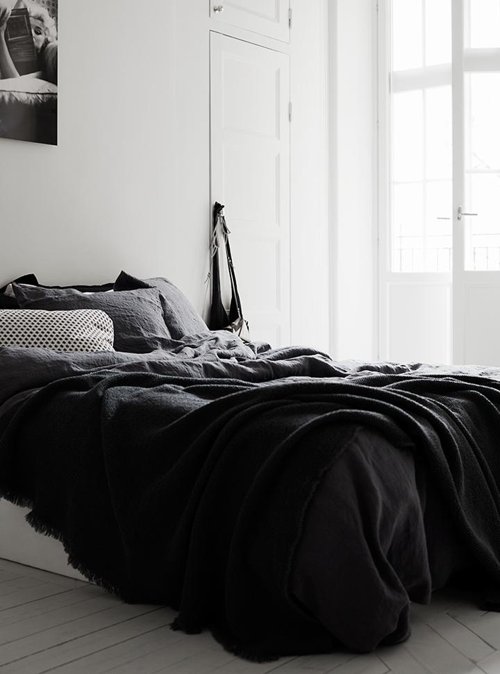 pellmell cr ations une d co en noir et blanc. Black Bedroom Furniture Sets. Home Design Ideas