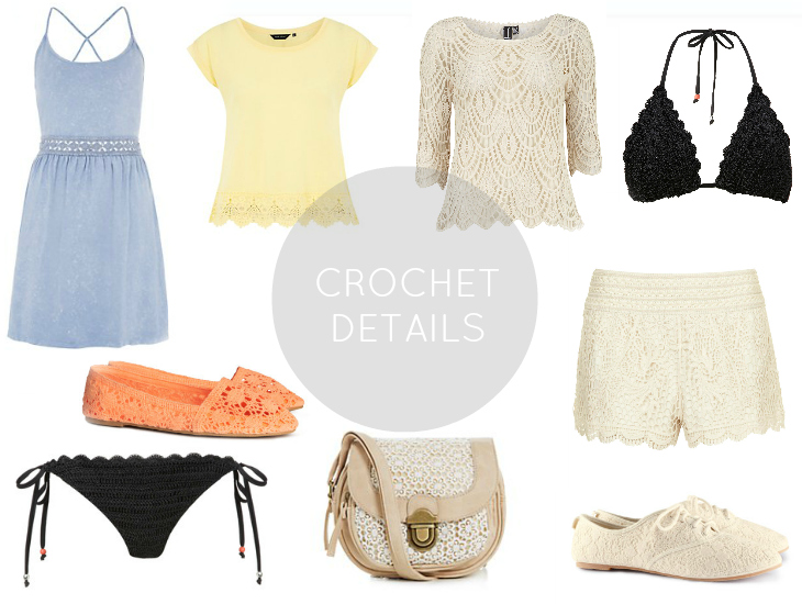 Love From Lisa Trend of the Week: Crochet Detail Fashion