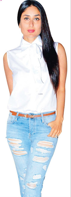 Kareena kapoor in stylish jeans