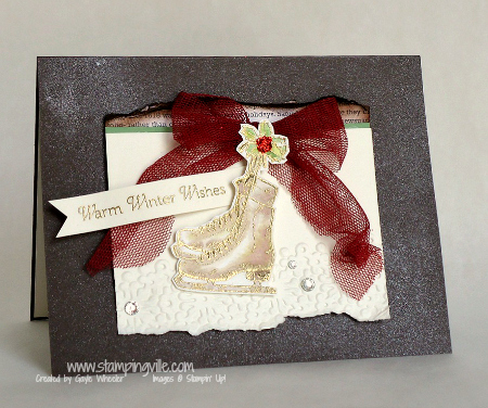 Stampin' Up! Winter Memories Stamp Set Card